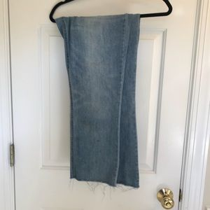 Old Navy distressed flared crops - Size 12